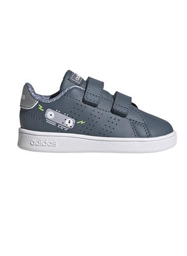adidas Adidas Bebek Tenis Ayakkabısı Advantage I Fw4953 Gri